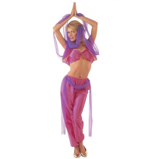 Afbeelding van 1001 nacht buikdanseres kostuum dames