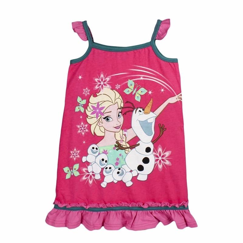 c9054209192a6e Frozen jurkje elsa en olaf voor kinderen. katoenen zomerjurkje van disney  frozen. materiaal