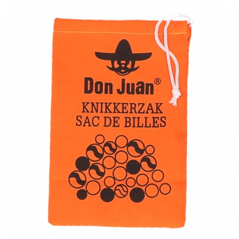7d2e71e0cff12e Oranje knikkerzak don juan. stevige knikkerzak in oranje kleur. de  knikkerzak is voorzien van