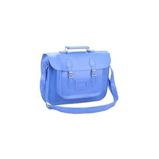 Verstelbare blauwe schooltas