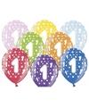 1 jaar geworden ballonnen met sterren