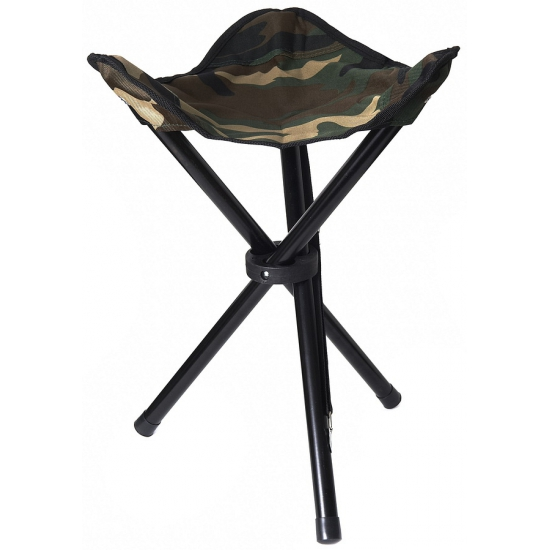Inklapbaar vissersstoeltje camouflage