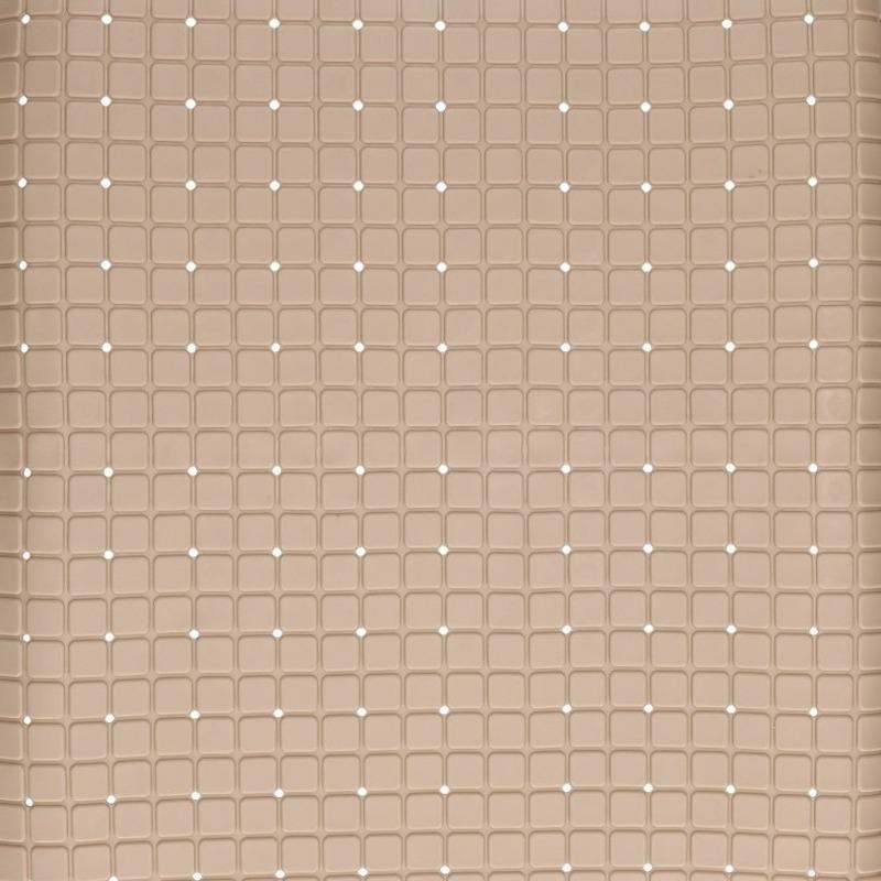Beige antislip mat voor douchecabine 55 cm