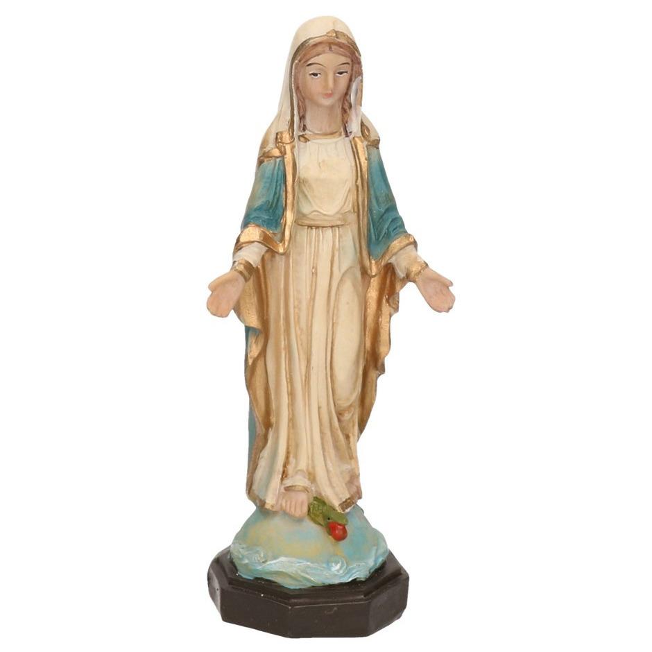 Maria beeldje 13 cm. heilige maagd maria beeld met een formaat van ongeveer 13 cm groot. het beeldje is ...
