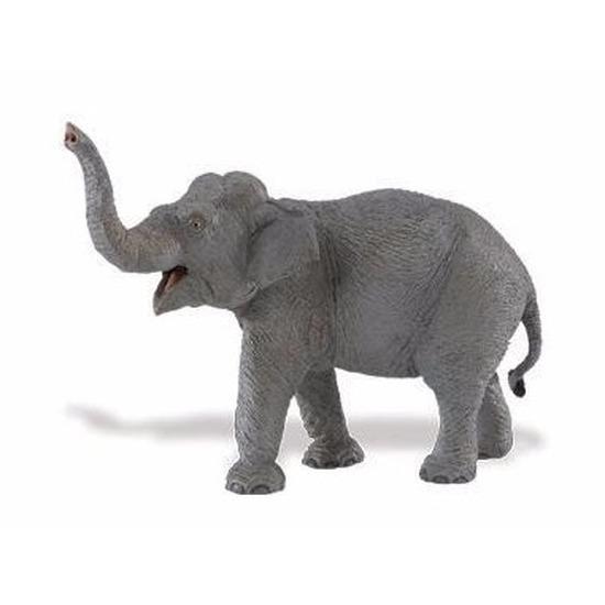 Decoratie plastic Aziatische olifanten 16 cm