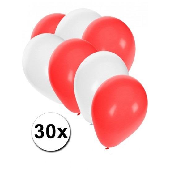 Feestartikelen 30 Zwitserse Ballonnen