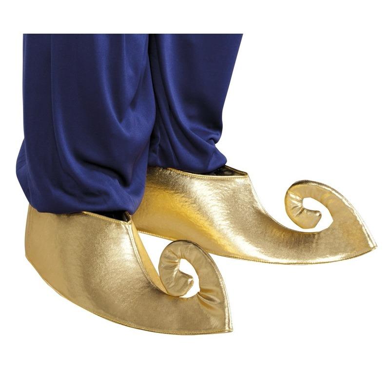 Gouden sultan schoenen voor volwassenen