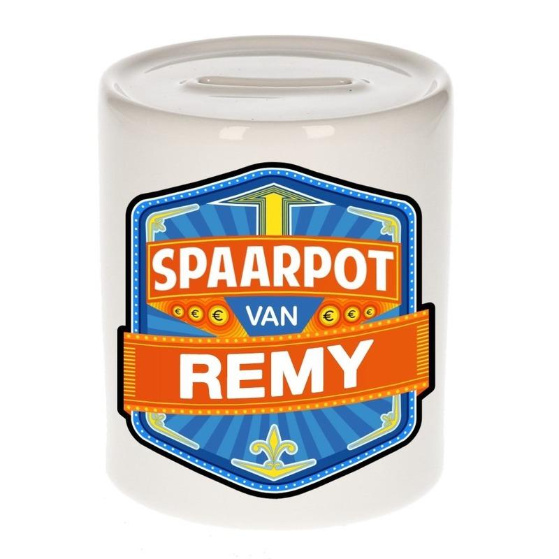 Keramiek Remy spaarpot voor kinderen