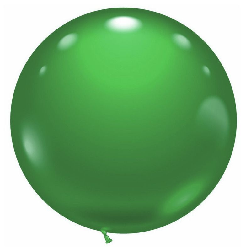Mega groene grote ballon 70 cm
