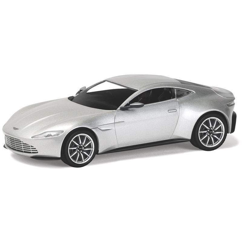 Miniatuur model auto Aston Martin DB10 van James Bond 1:36