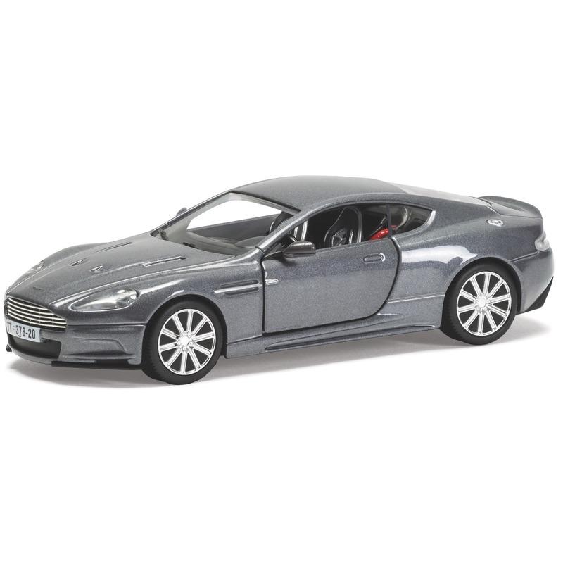 Miniatuur model auto Aston Martin DBS van James Bond 1:36