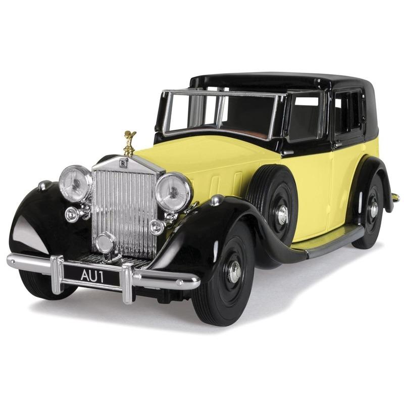 Miniatuur model auto Rolls Royce Phantom III van James Bond 1:36
