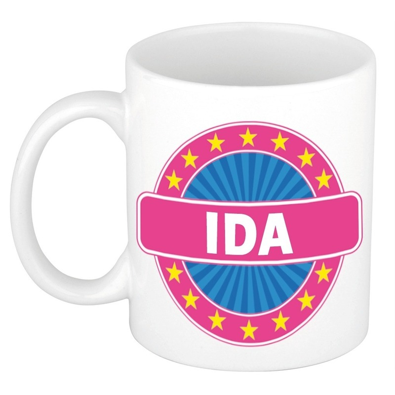Mok met naam Ida 300 ml