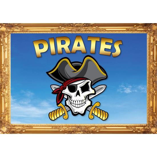 Pirates versiering poster