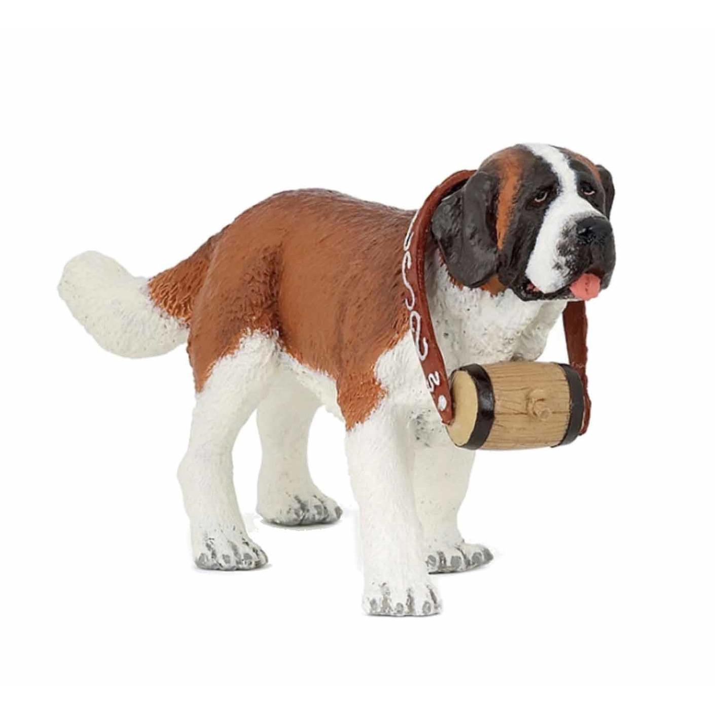 Speelgoed plastic Sint Bernard hondje