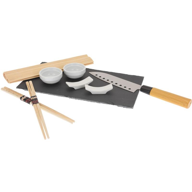 Stenen serveerplank sushi 30 cm