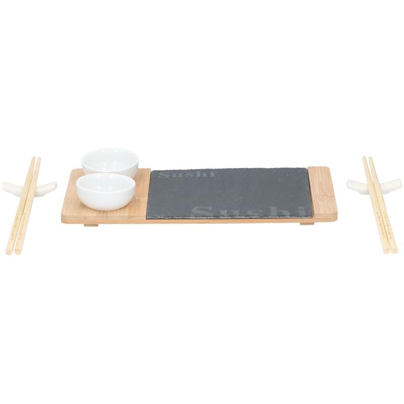 Sushi serveerset voor 2 personen 7-delig