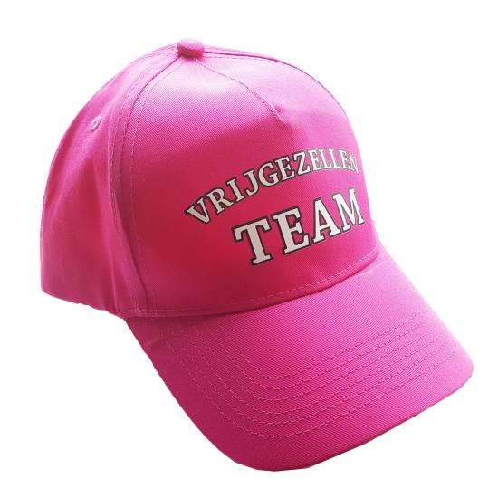Welp Roze vrijgezellenfeest team pet vrouwen - Vrijgezellenfeest EB-99
