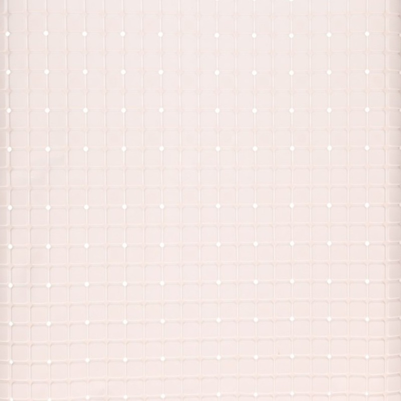 Witte antislip mat voor douchecabine 55 cm
